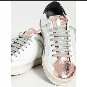 P448 Rose Gold You Can Surf Later Sneakers 37